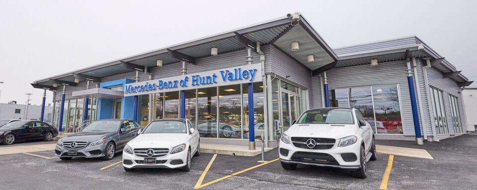 Exterior View Of Mercedes Benz Of Hunt Valley
