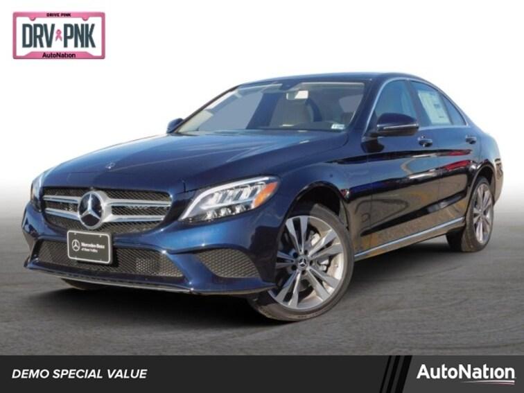 Mercedes Of Hunt Valley >> New 2019 Mercedes Benz C Class For Sale At Autonation Subaru Hunt Valley Vin 55swf8ebxku303355