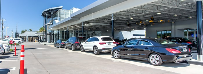 Car service center near me mercedes benz of jacksonville for Mercedes benz service department