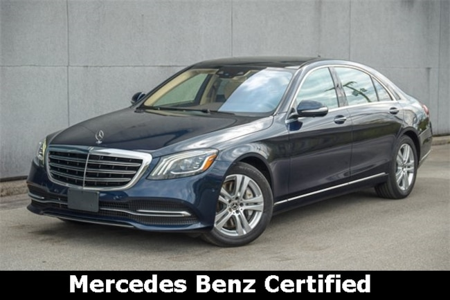 2018 Mercedes-Benz S-Class S 560 4MATIC Sedan