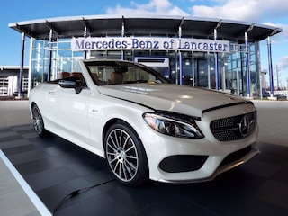 Certified Pre-Owned 2018 Mercedes-Benz C-Class 4MATIC AMG C 43 4MATIC Cabriolet in East Petersburg PA