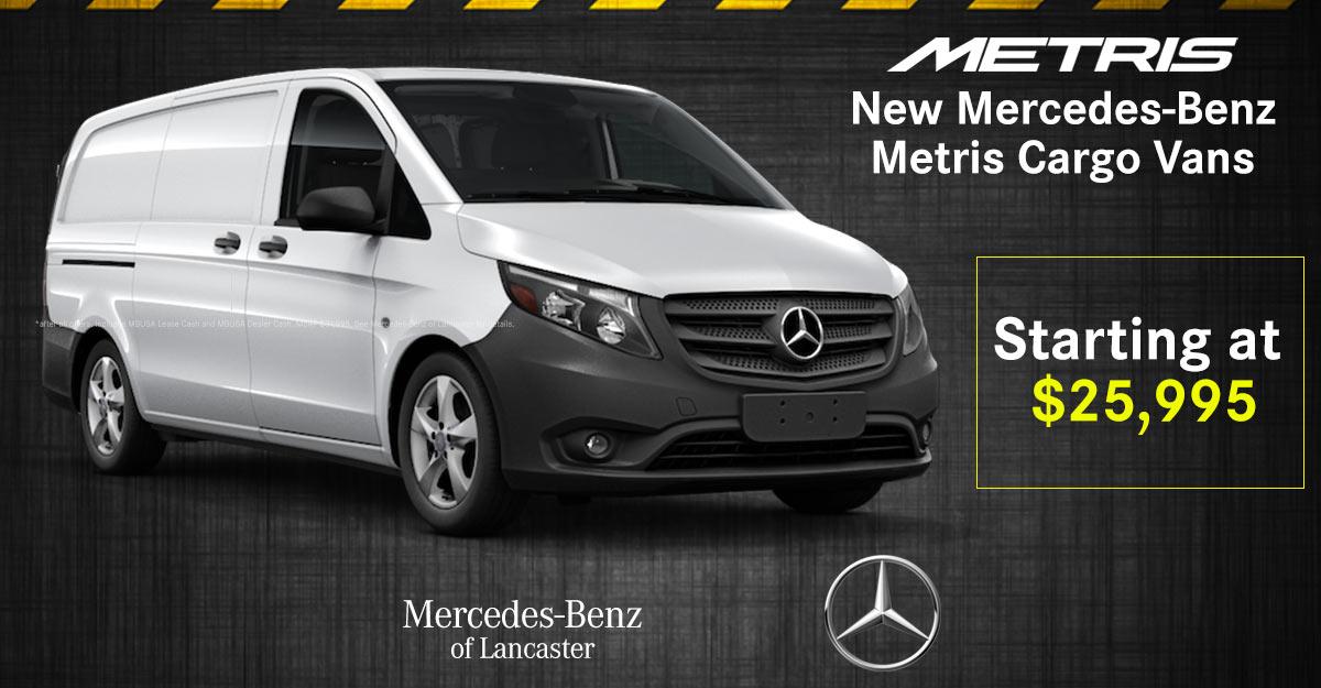 Mercedes Benz Vans National Offers