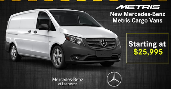 Mercedes-Benz Vans National Offers | Mercedes-Benz of Lancaster