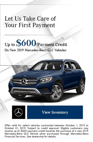 October Up to $600 Payment Credit Offer
