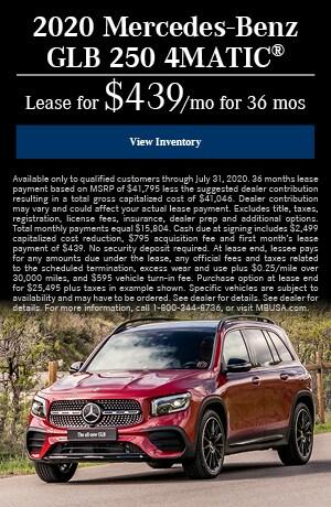 2020 Mercedes-Benz GLB 250 4MATIC®
