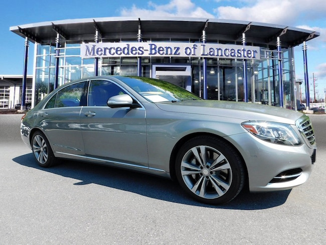 Used 2015 Mercedes-Benz S 550 4matic For Sale at Lancaster