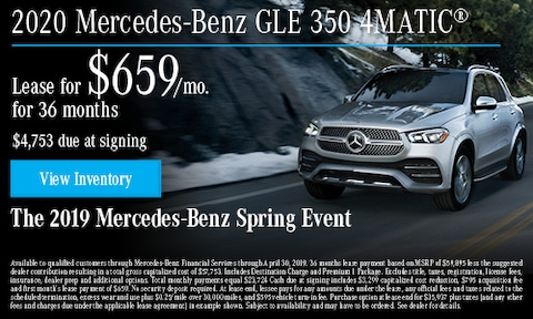 April 2020 GLE 350 Lease Offer