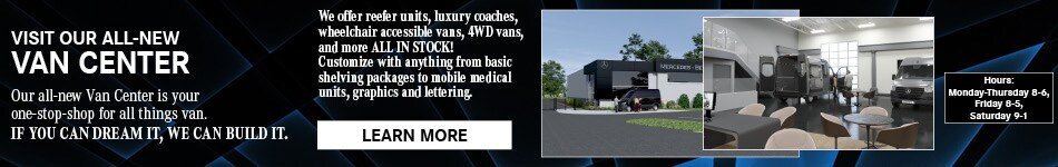 Visit Our New Van Center - February