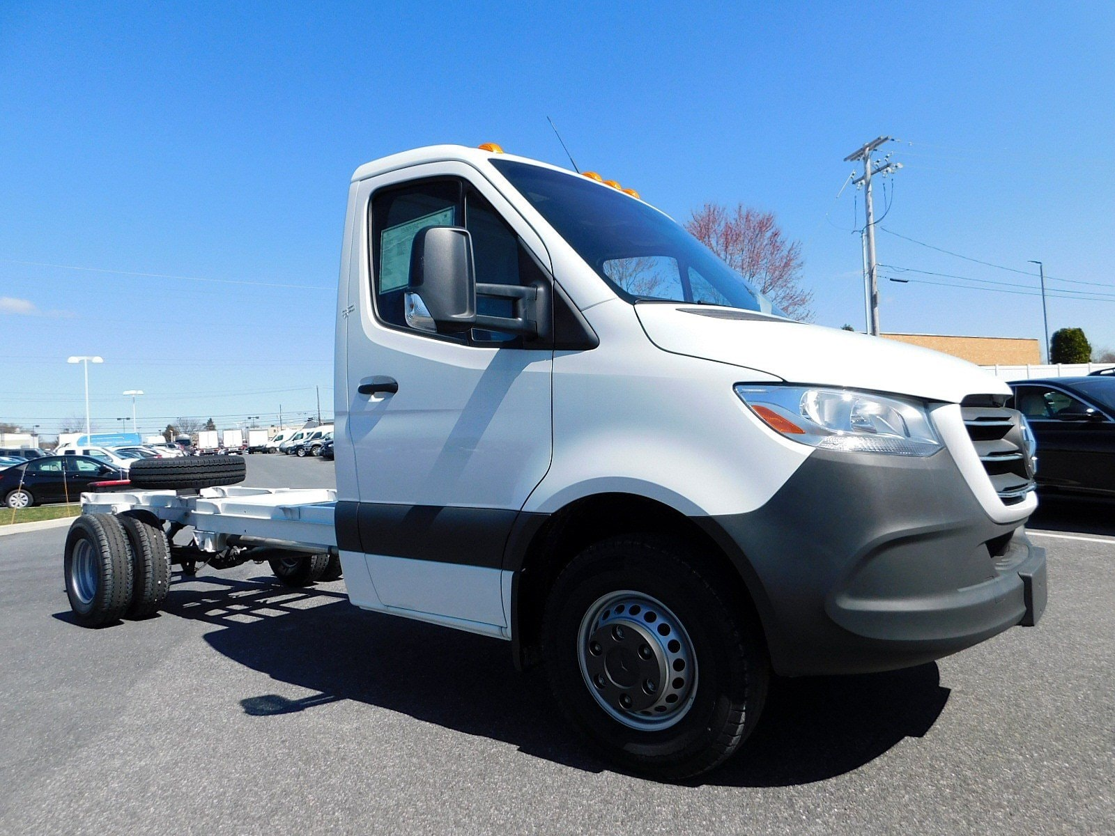 New 2019 Mercedes-Benz Sprinter 4500 Chassis For Sale at Mercedes-Benz of  Lancaster | VIN: WDAPF4CD7KN017714