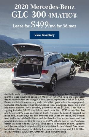 2020 Mercedes-Benz GLC 300 4MATIC®