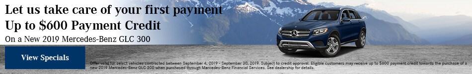September First Payment Offer