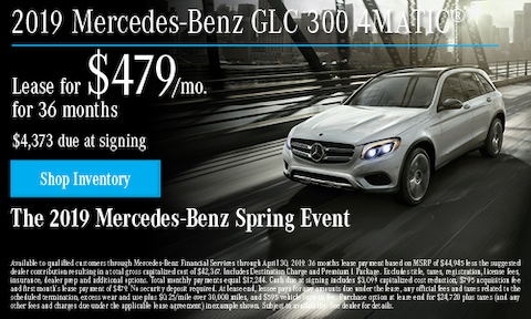 April 2019 GLC 300 Lease Offer