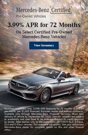 3.99% APR for 72 Months