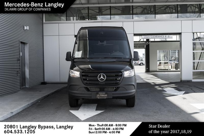2019 Mercedes-Benz Sprinter V6 2500 Cargo 170 High Roof V6 Van Cargo Van