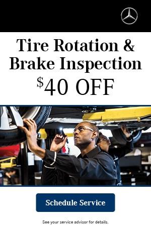 Tire Rotation & Brake Inspection