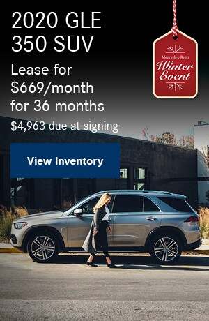 2020 GLE 350 SUV - November Offer