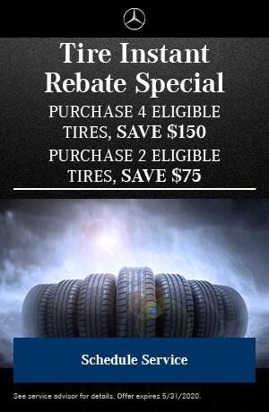 Tire Instant Rebate Special