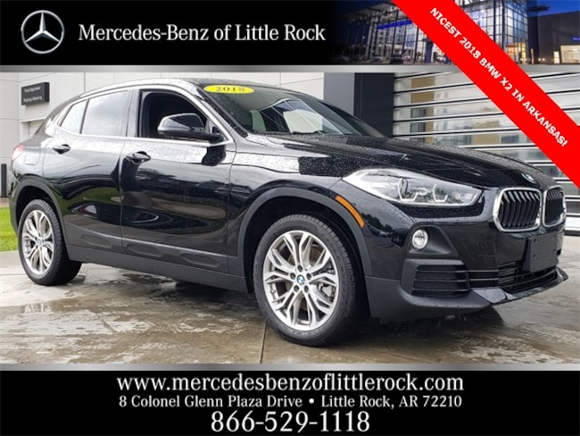 Bmw Little Rock >> Vin Used 2018 Bmw X2 For Sale At Mercedes Benz Of Little Rock