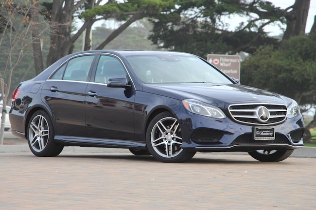 2016 Mercedes-Benz E-Class E 400 4MATIC Sedan