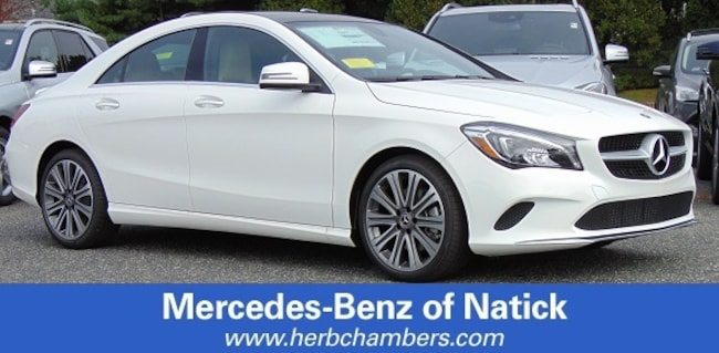 New 2019 Mercedes-Benz CLA 250 4MATIC Coupe for sale in Natick MA
