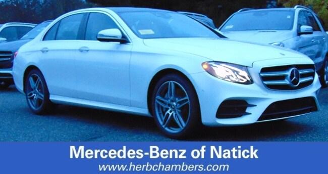 New 2019 Mercedes-Benz E-Class E 300 4MATIC Sedan for sale in Natick MA
