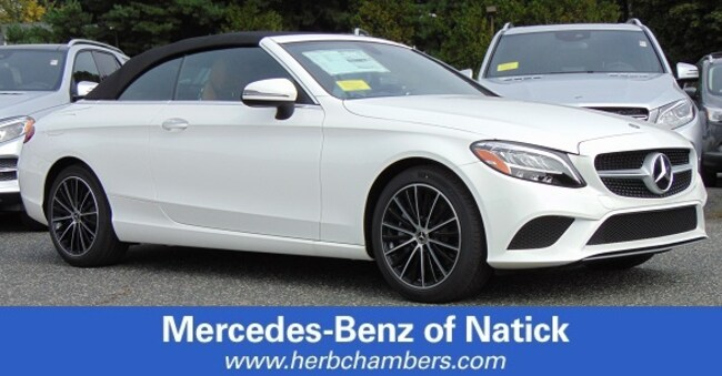New 2019 Mercedes-Benz C-Class C 300 4MATIC Cabriolet for sale in Natick MA