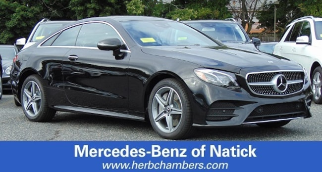 New 2019 Mercedes-Benz E-Class E 450 4MATIC Coupe for sale in Natick MA
