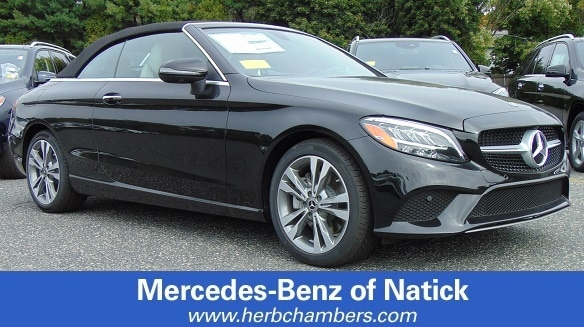 New 2019 Mercedes Benz C Class C 300 4MATIC Cabriolet Near Boston, MA
