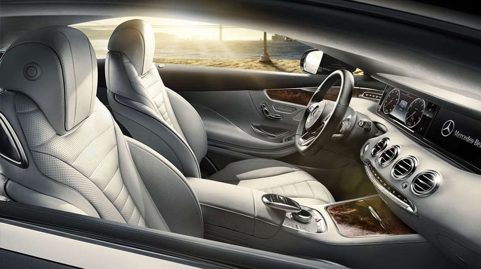 Learn about the 2017 mercedes benz s class coupe in for Mercedes benz of okc