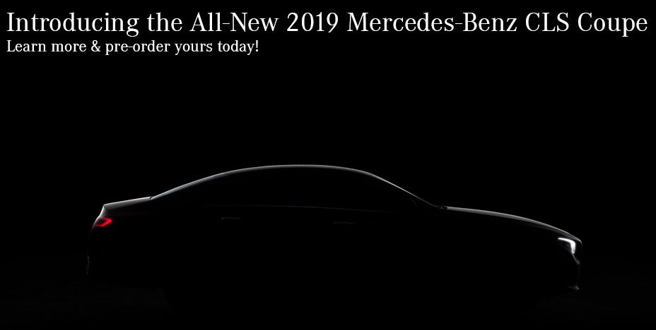 Introducing the all-new 2019 Mercedes-Benz CLS Coupe - Order Yours Today