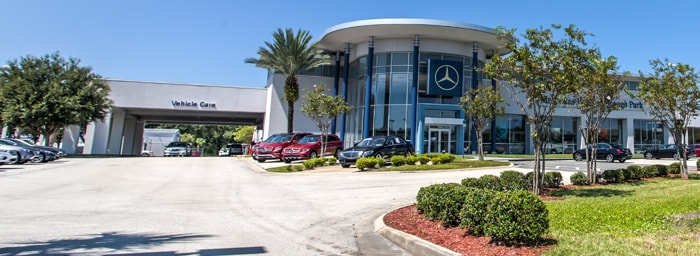 Welcome To Our Service Department At Mercedes Benz Of Orange Park