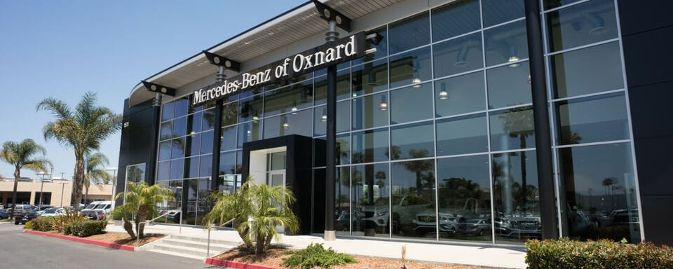 Vista exterior de Mercedes-Benz of Oxnard