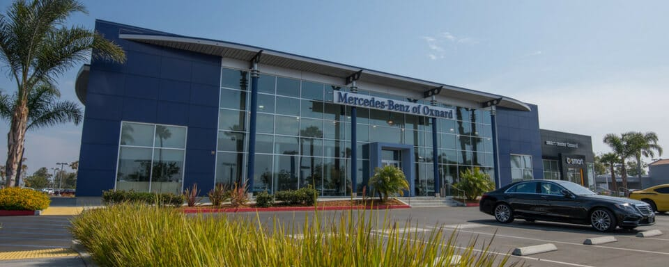 Exterior view of Mercedes-Benz of Oxnard