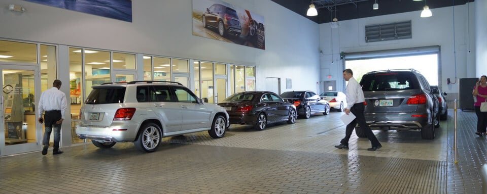 Mercedes Benz Of Pembroke Pines Service Center Amenities