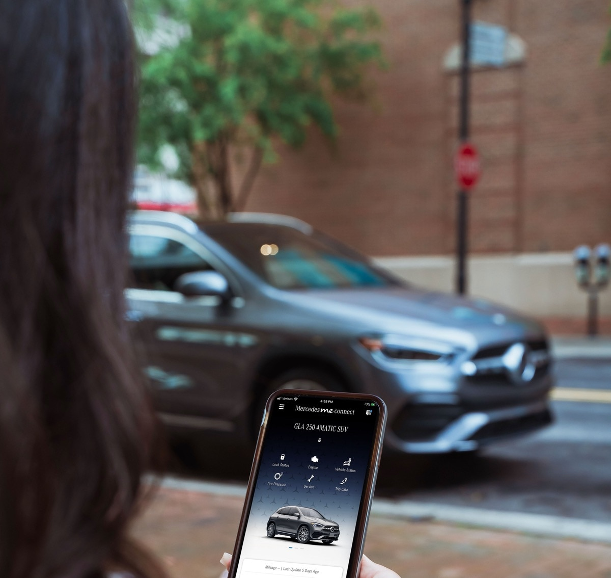 Mercedes me connect app update Plano, TX