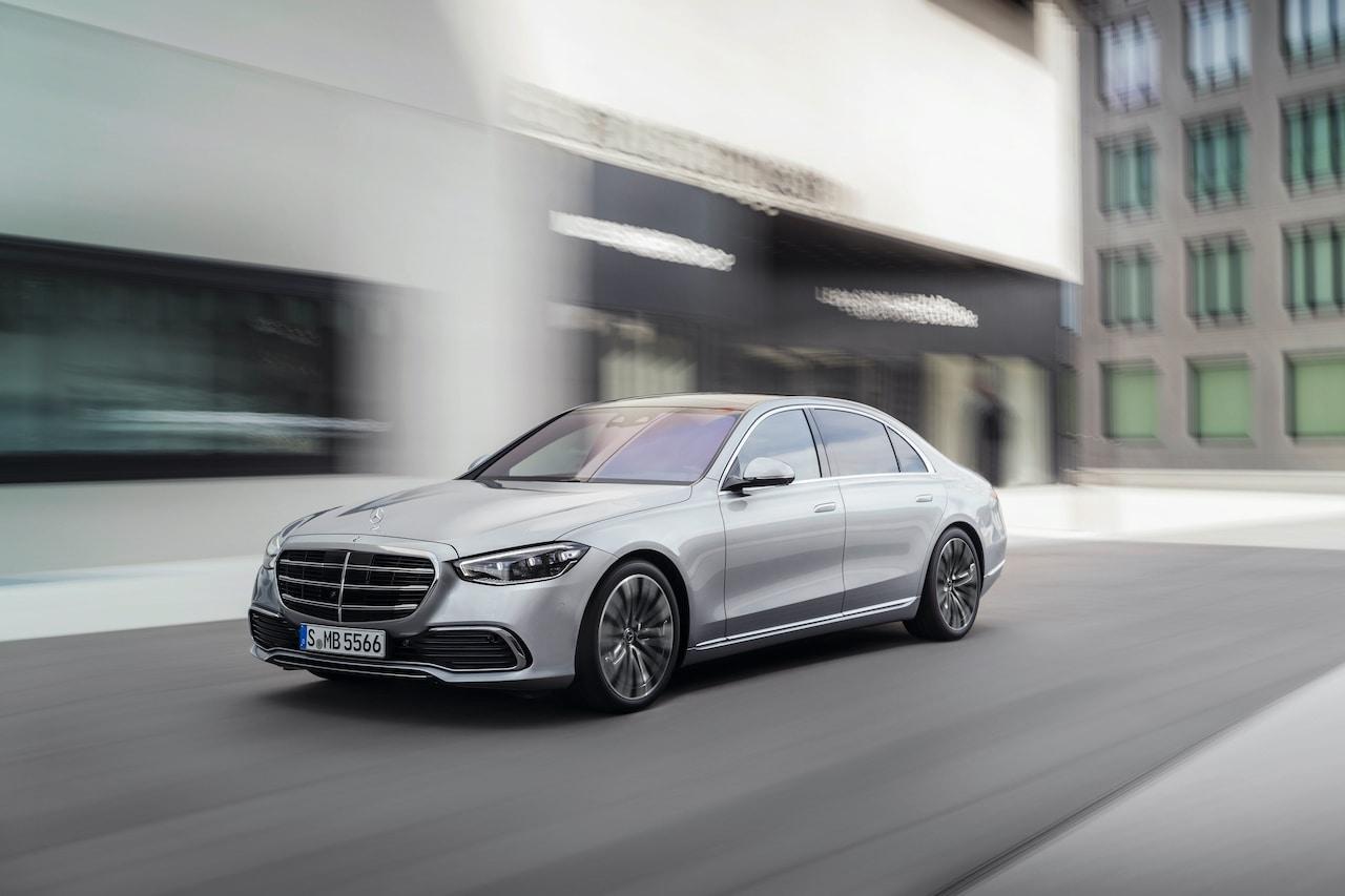 2021 Mercedes-Benz S-Class sedan silver city