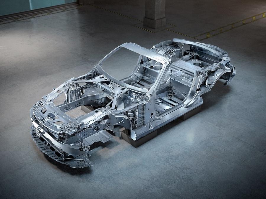 Mercedes-AMG SL Body Frame