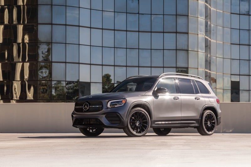 2021 Mercedes-Benz GLB 250 Gray Downtown