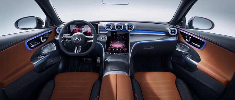 2022 Mercedes-Benz C-Class Instrument Panel