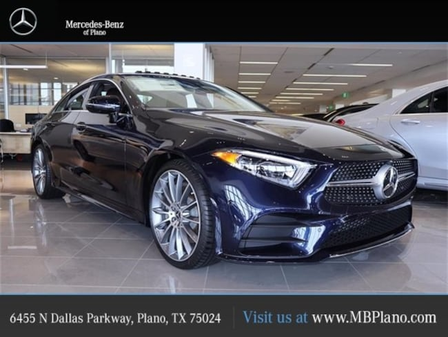 Mercedes Benz Plano >> New 2019 Mercedes Benz Cls 450 For Sale At Mercedes Benz Of Plano Vin Wdd2j5jb3ka037016