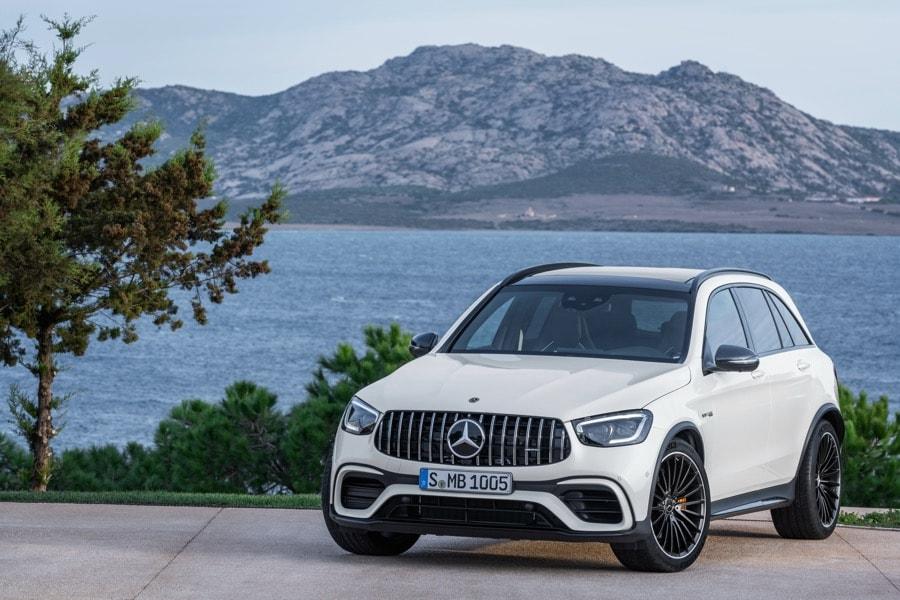 2022 Mercedes-AMG GLC 63 S SUV white lake