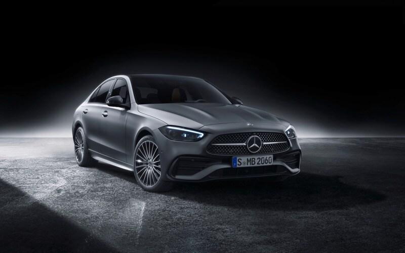 2022 Mercedes-Benz C-Class Silver Front