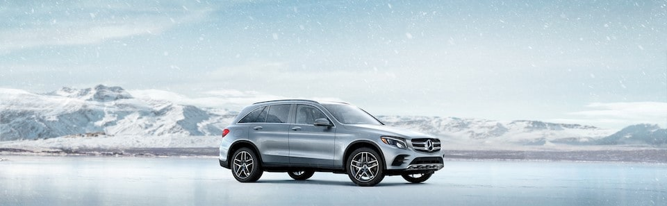 2019 GLC Class Silver Snow