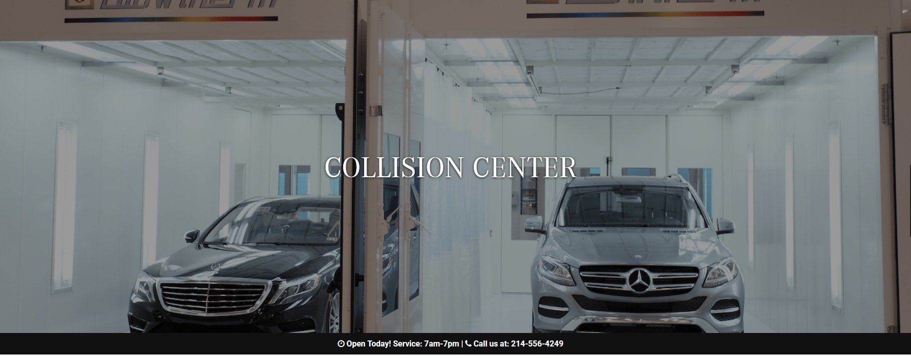 Mercedes Benz Of Plano Auto Body Plano Texas Collision Repair