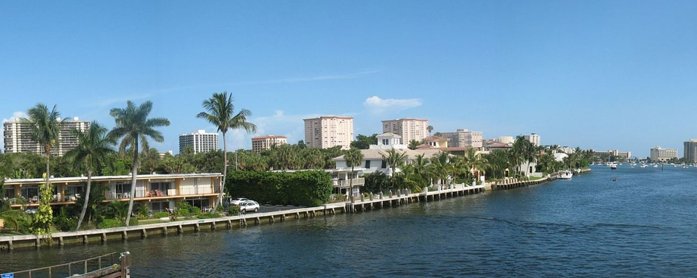 View of Boca Raton, FL