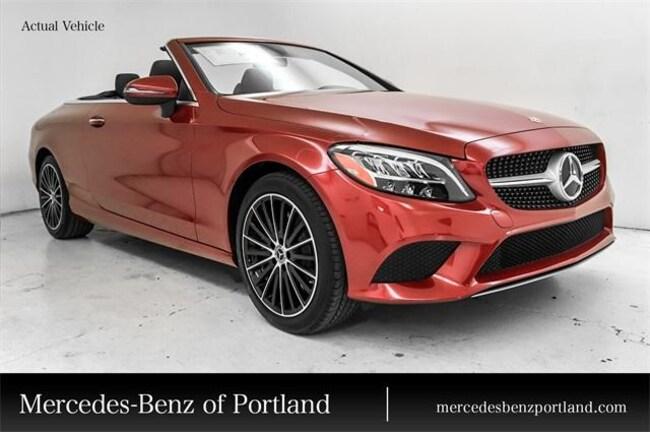 New 2019 Mercedes Benz C Class Cabriolet C 300 4matic Designo