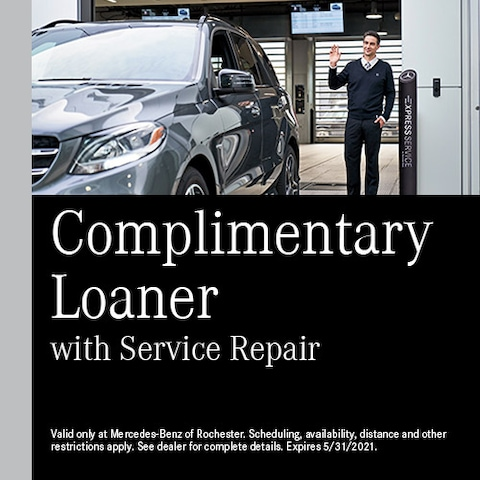 Complimentary Loaner with Service Repair