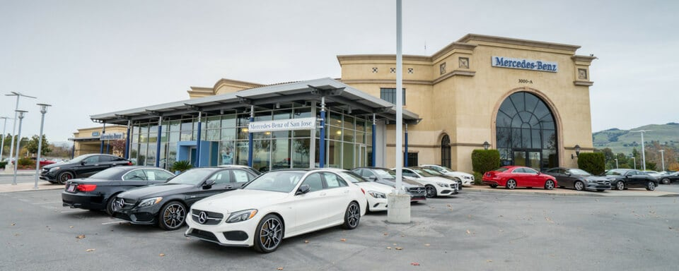 mercedes benz dealer near me san jose ca mercedes benz