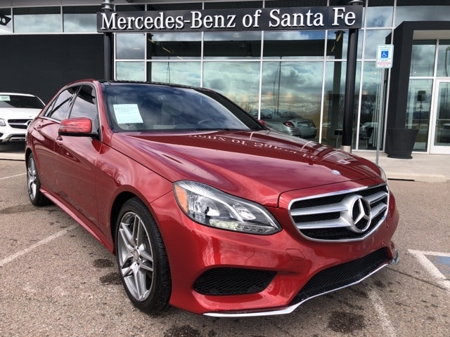 Used 2016 Mercedes Benz E Class For Sale In Santa Fe Nm