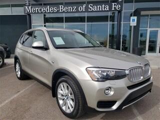 New 2015 BMW X3 xDrive28i SAV 5UXWX9C52F0D55764 for Sale in Santa Fe, NM